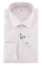 New $325 Barba Napoli Lavender Purple Shirt - Slim - 15.5/39 - (D2U10T350902)