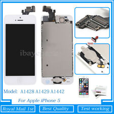 For iPhone 5 Screen Replacement Touch LCD Display Digitizer Button Camera White