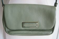 Marc by Marc Jacobs Grained Leather Flap Cross Body Bag - Green