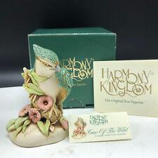 Harmony Kingdom Treasure Jest Figurine England box Caw of Wild bluebird bird coa