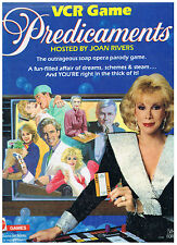 Mattel~PREDICAMENTS~Soap Opera Parody Game Hosted~Joan Rivers(Adults)~BRAND NEW!