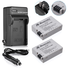 2 LP-E8 Battery Pack + Charger Combo for Canon Rebel T5i T4i T3i T2i DSLR Camera