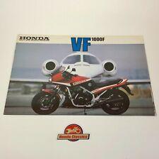 Honda VF1000F Original Honda Sales Brochure. HSB586