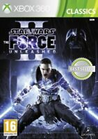 Xbox 360 - Star Wars The Force Unleashed II (2) **New & Sealed** UK Stock