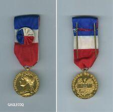 FRANCE MILITARY CIVILIAN FRENCH MEDAL - MEDAILLE D'HONNEUR MT 1st TYPE
