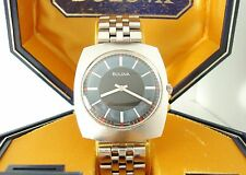 Vintage Bulova  Men's Sea King Watch c1973, Serviced, Orig Display Box and Band