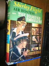 Shirley Flight Air Hostess-The Diamond Smugglers #2 Judith Dale /with dustjacket