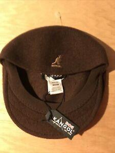 Kangol 504 Wool Chocolate Brown Size M