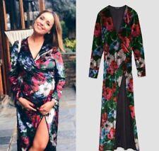 Zara Floral Printed Velvet Kimono Size S UK 10 BNWT