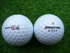 50 Bridgestone e6 / e6+ Golfbälle  AAAA-AAA