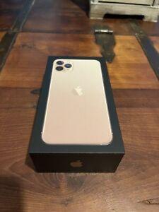 Apple Iphone 11 Pro Max GOLD 256GB UNLOCKED PRISTINE Condition UK Stock Fast P&P