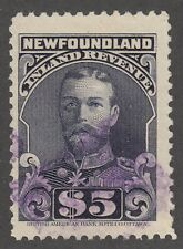 NFLD Inland Revenue NFR 21a VF Used Perf 11