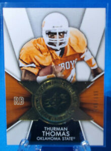 2014 Upper Deck SPX Football 240/999 Thurman Thomas #FI-TT Oklahoma State