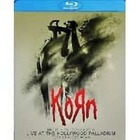 "KORN ""LIVE (AT THE HOLLYWOOD PALLADIUM)"" BLU-RAY+CD NEU"