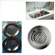 3 x Filtre pour évier bain lavabo petit bonhomme Cuisine Métal Passoire Même