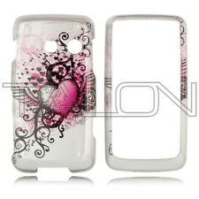 For LG Rumor Touch LN510 Banter Touch UN510 Hard Case Phone Cover Grunge Heart