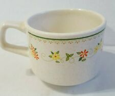 Temper-Ware by Lenox Countryside Coffee Mugs Cups Set of 3 USA Vintage