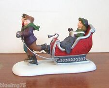 Dept 56 Heritage Village Winter Sleighride #58254 (Y308Ex)