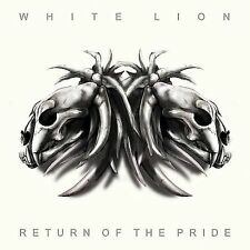 WHITE LION- RETURN OF THE PRIDE (CD-2008 AIRLINE) W/2 LIVE BONUS TRACKS LIKE NEW