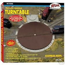 Atlas #305 HO Manually Operated Turntable - HO Scale - Code 100 Rails