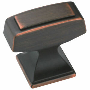 Cabinet Hardware Oil Rubbed Bronze Knobs #53029-ORB