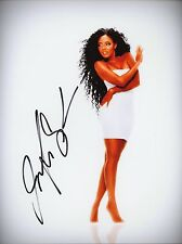 "ANGELA SIMMONS Authentic Hand-Signed ""Run's House"" 8.5x11 Photo (Joseph Simmons)"