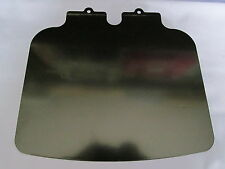 06-2037 NORTON COMMANDO FASTBACK REAR LAMP NUMBER PLATE HOLDER BLACK PAINTED