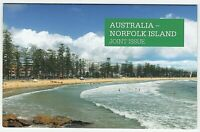 2014 STAMP PACK 'AUSTRALIA - NORFOLK ISLAND JOINT ISSUE' WITH MNH STAMPS