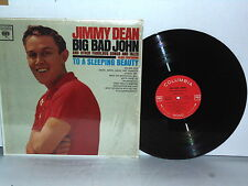 JIMMY DEAN Big Bad John Vinyl LP 1961 Columbia Mono 2 Eye Country Plays Well VG+