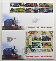 Pair Of Royal Mail Tallents House Thomas Tank Engine 2011 Stamp First Day Covers