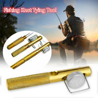 Knot Line Tying Knotting Tool Manual Portable Fast Fishing Supplies xile