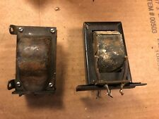 2 Antique Radio Transformers one marked Output 1920s or 1930s