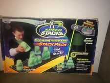 Glow-in-the-Dark SPEED STACKS Sport Cup Stacking Game Set - Cups Timer & Mat