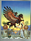 Ariosto by Don Maitz Signed + Numb. Print # 25/100 Cover Chelsea Quinn Yarbro BK