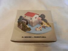 El Molino Pedro's Mill Figurine from the Pueblo Encantado Collection 1994