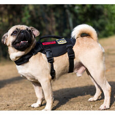OneTigris Tactical Dog Harness Molle Nylon Vest with Handle for Small or XS Dogs