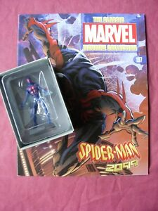 Spider-Man 2099 #197 Classic Marvel Figurine Collection Fig/Mag Eaglemoss VFN