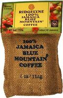 ridgelyne 100 percent Jamaica blue mountain coffee roasted and ground