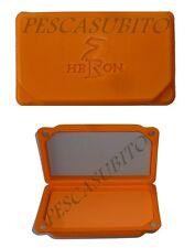scatola arancio porta mini cucchiaini ondulanti spoon artificiali pesca trota