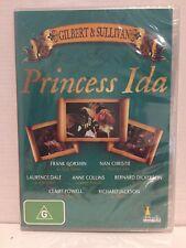 PRINCESS IDA ~ GILBERT & SULLIVAN ~ BRAND NEW & SEALED ~ PAL REGION 4 DVD