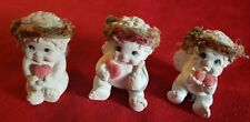 Dreamsicles Lot of 3 Heart Love Angels Cherubs