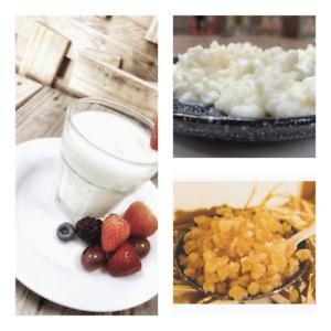 Certified Organic Kefir grains pack- Milk Kefir  10g sachet, water kefir 50g