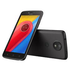 "Motorola Moto C 16GB Starry Black 5"" Smartphone 4G LTE WiFi Unlocked SIM-FREE"