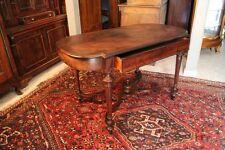Table de milieu bureau en placage de palissandre XIXe Napoléon III