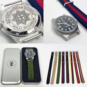 18mm 20mm Universal Military Nylon Watch Strap British Army Regimental Colours