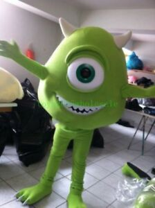 Inc Sully Mascot Costume Advertising Mike Monster Party Fancy Dress Cosplay Suit