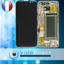 Ecran complet pour Samsung Galaxy S8 G950F doré Or vitre tactile+LCD sur chassis