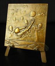 Médaille de sport d'eau & collectif  Water-polo natation sc Baudichon 1947 Medal