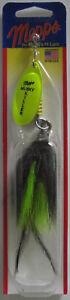 Mepps  Musky Killer - 3/4 oz. - Hot Chartreuse/Black Chartreuse