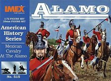 Faller-Imex 1:72, 940515 Mexikanische Kavallerie Alamo, Amerikanische Geschichte